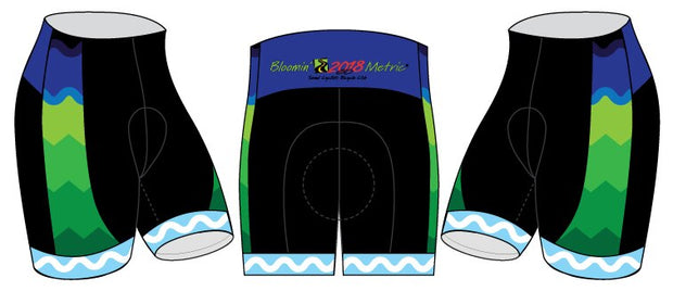 Sound Cyclists Bloomin' Metric Cycling Shorts