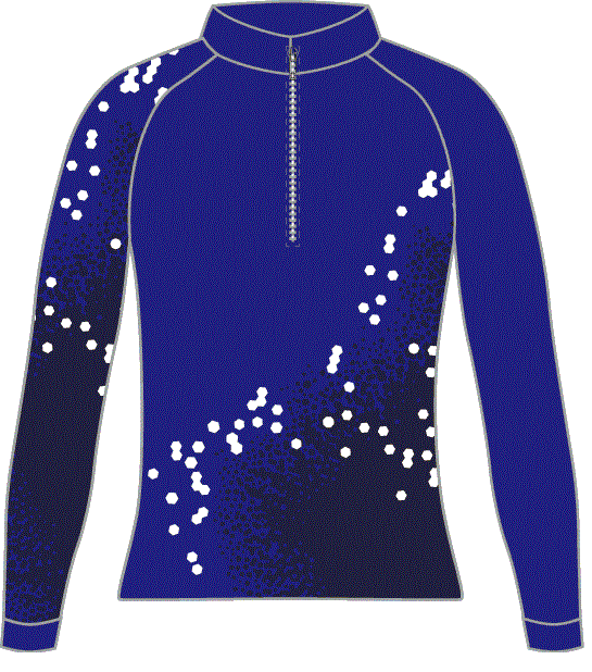 Berkshire Trails Ski Team Racing Suit Top