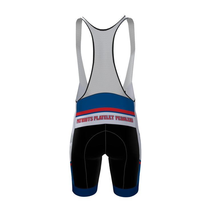Patriot Platelet Pedalers Cycling Bibs