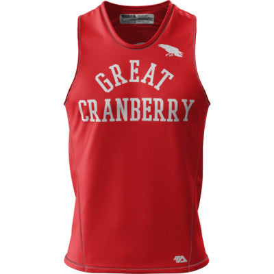 CA Great Cranberry + Mens REC Singlet Elite