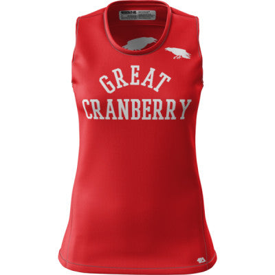 CA Great Cranberry + Womens REC Singlet Elite