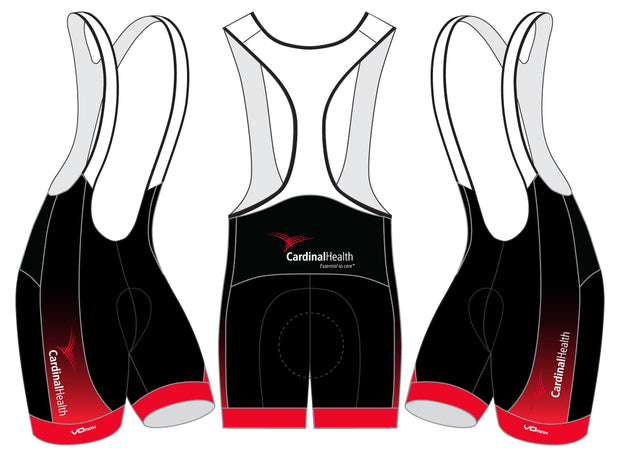 Cardinal Health Cycling Bibs