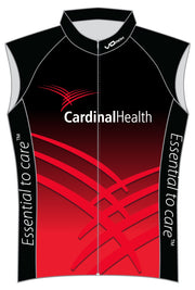Cardinal Health Sleeveless Classic Cycling Club Jersey