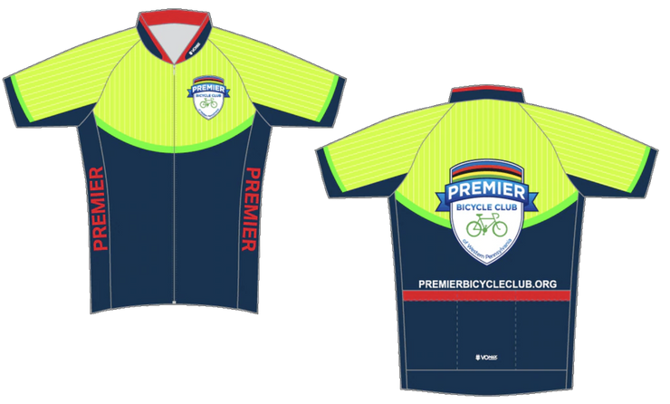 CLUB CUT Premier Bicycle Club Short Sleeve 2019 Cycling Jersey