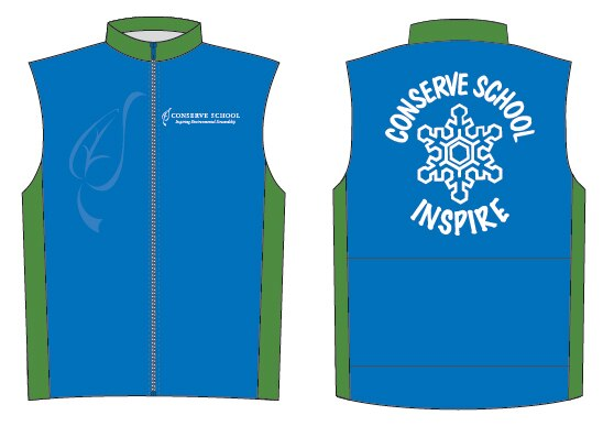 Conserve School Lined Wind Vest