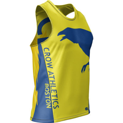 Crow Boston Mens REC Singlet Elite