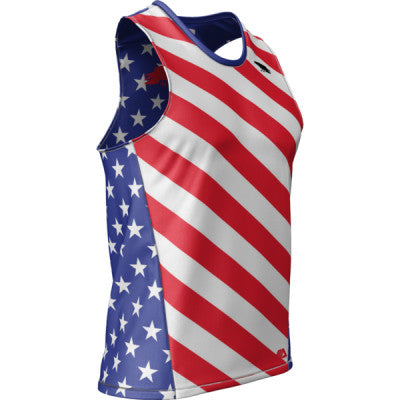 Crow USA + Mens REC Singlet Elite