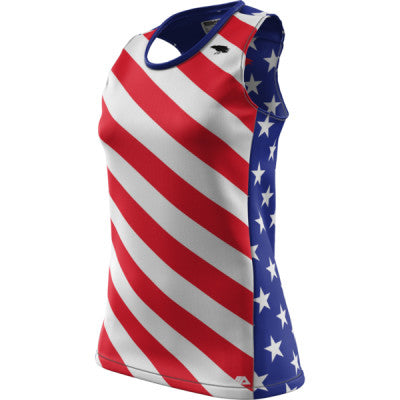 Crow USA + Womens REC Singlet Elite
