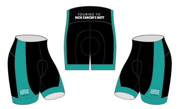 Cancer Research Bike Tour's Supporter Cycling Shorts