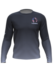 Men's LD4H Long Sleeve Tech Tee - Charcoal