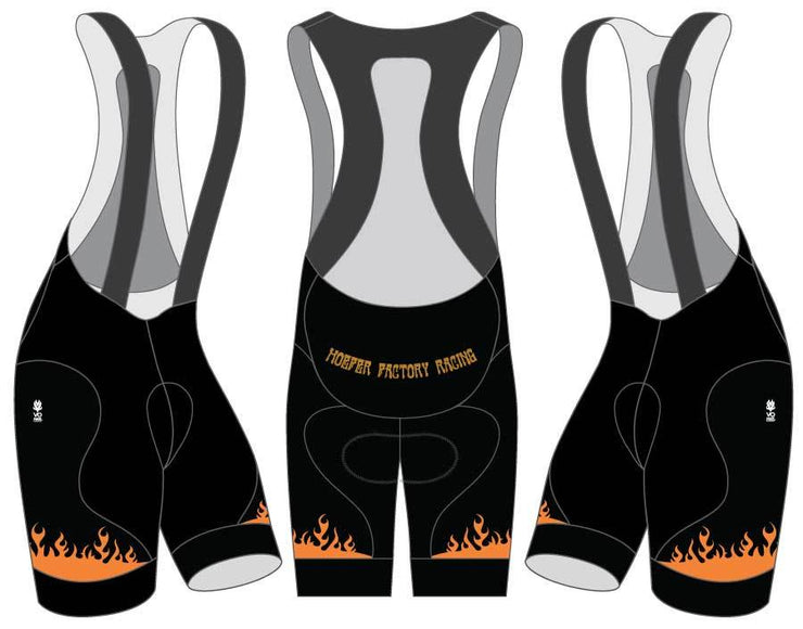 GRITS Hoefer Factory Racing Team 2019 Pro Bib Shorts
