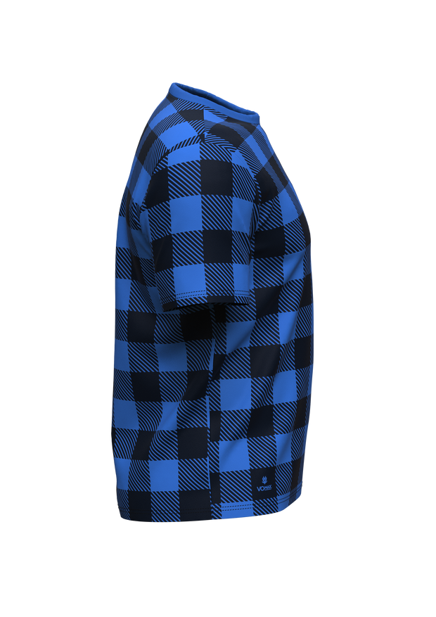 LD4H Lumberjack Short Sleeve Tech Tee - Blue
