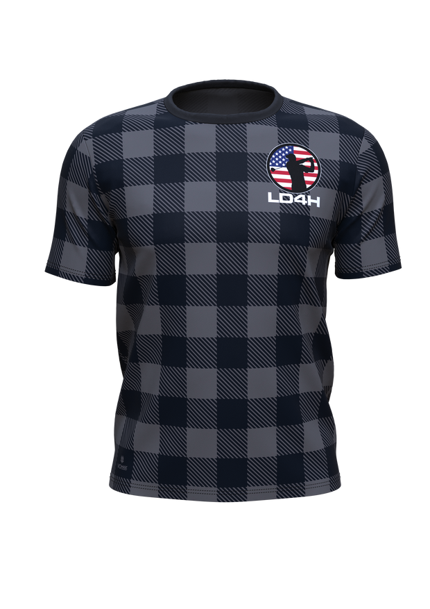 LD4H Lumberjack Short Sleeve Tech Tee - Gray