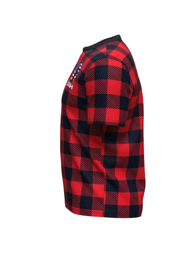 LD4H Lumberjack Short Sleeve Tech Tee - Red