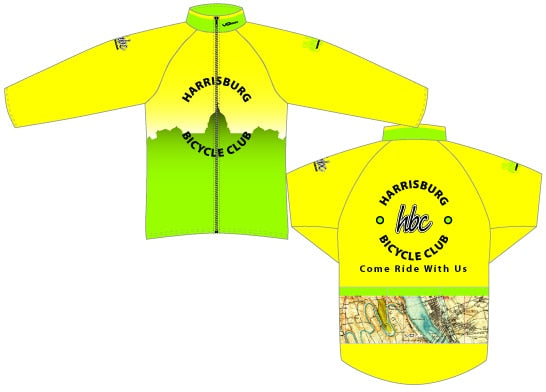 Harrisburg Bicycle Club Aero Windbreaker
