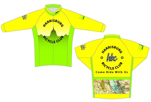 Harrisburg Bicycle Club Long Sleeve Cycling Jersey