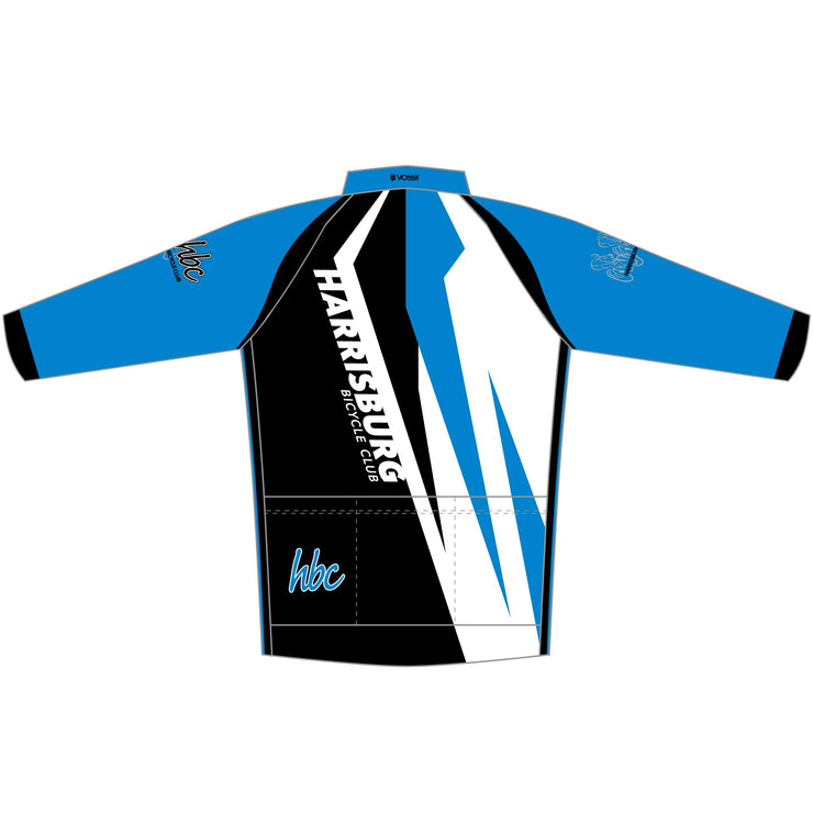2020 HBC Long Sleeve Elite Cycling Jersey - Blue