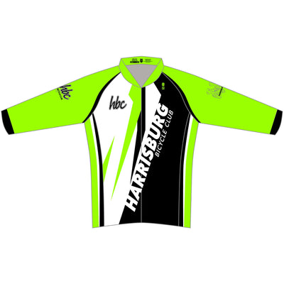 2020 HBC Long Sleeve Elite Cycling Jersey - Green