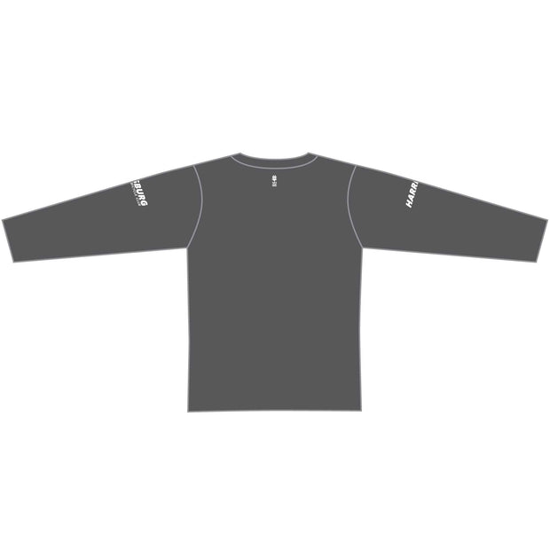 2020 HBC Long Sleeve Tech Tee - Charcoal
