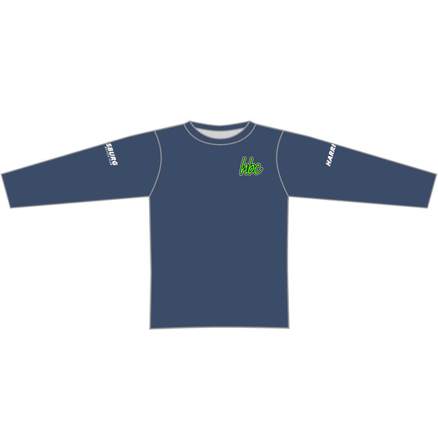 2020 HBC Long Sleeve Tech Tee - Navy