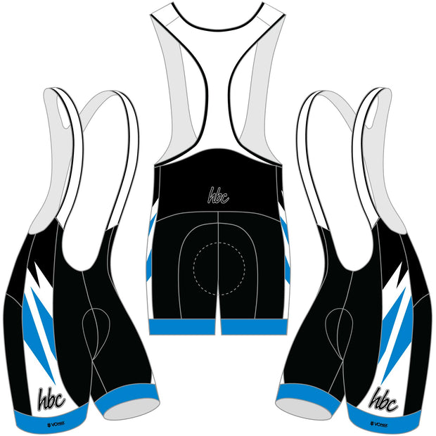 2020 HBC Cycling Bibs - Blue