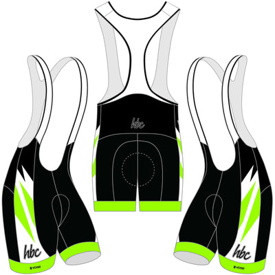 2020 HBC Cycling Bibs - Green