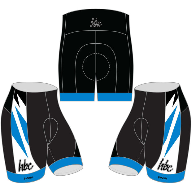 2020 HBC Cycling Shorts - Blue