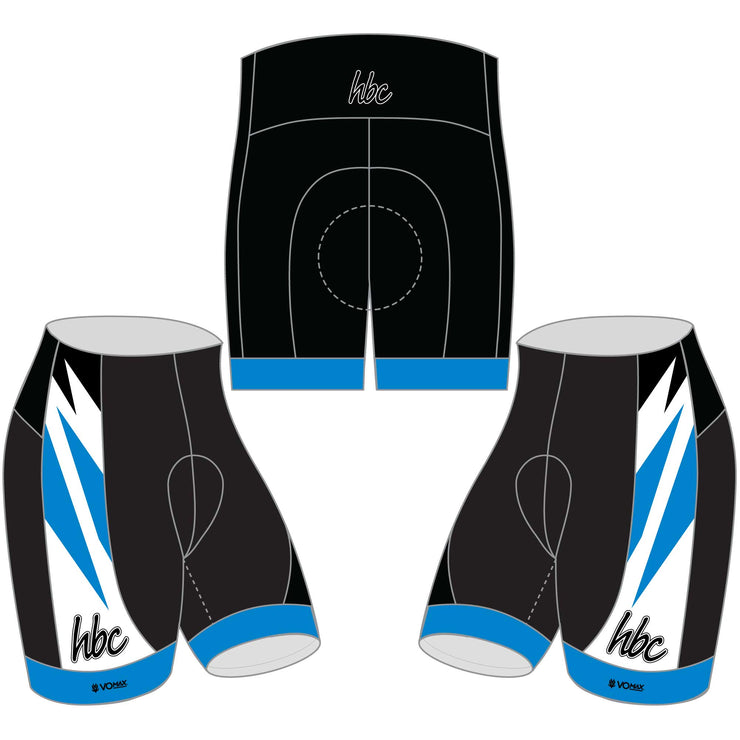 2020 HBC Club Cycling Shorts - Blue