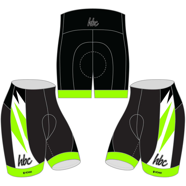 2020 HBC Cycling Shorts - Green