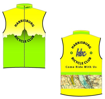 Harrisburg Bicycle Club Windbuster Vest