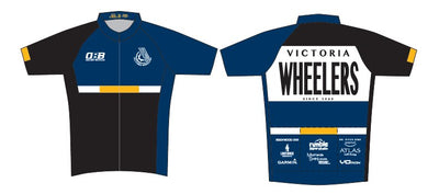 Victoria Wheelers Race Cut Short Sleeve Jersey