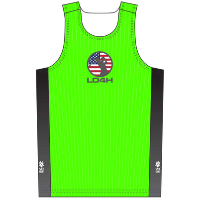 Women's LD4H Singlet - Green