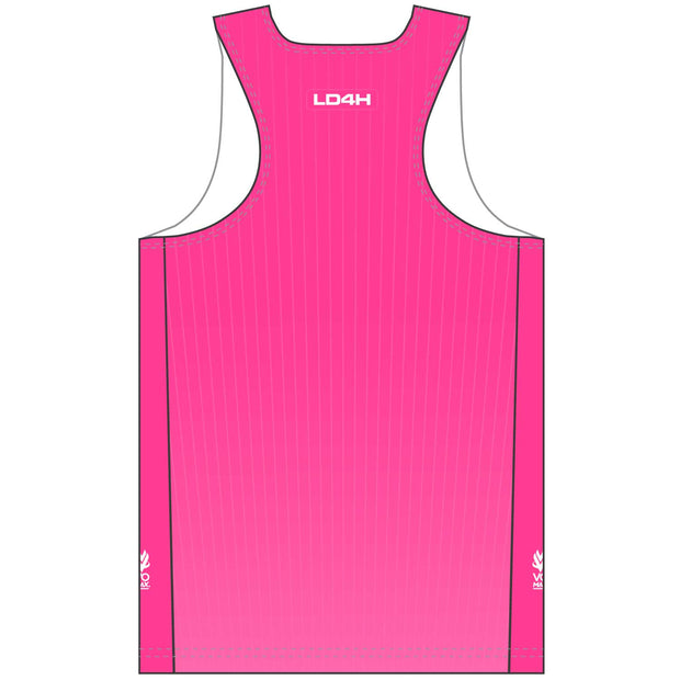Women's LD4H Singlet - Hot Pink