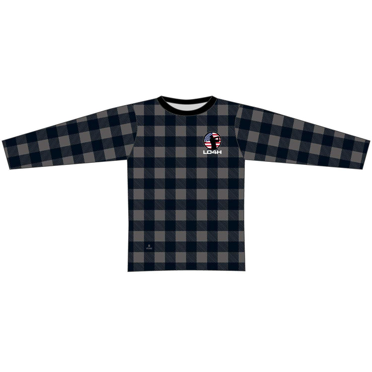 LD4H Lumberjack Long Sleeve Tech Tee - Gray