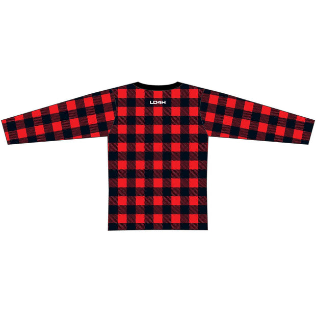 LD4H Lumberjack Long Sleeve Tech Tee - Red