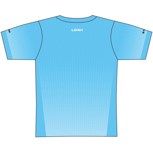 Women's LD4H Tech Tee - Cyan