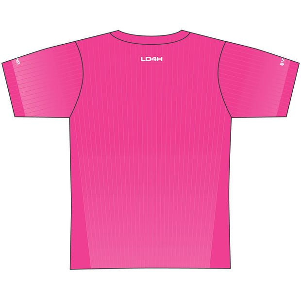 Women's LD4H Tech Tee - Hot Pink