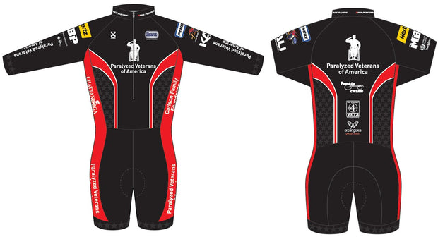 Paralyzed Veteran Racing Long Sleeve Skinsuit