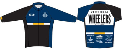 Victoria Wheelers Long Sleeve Race Cut Jersey
