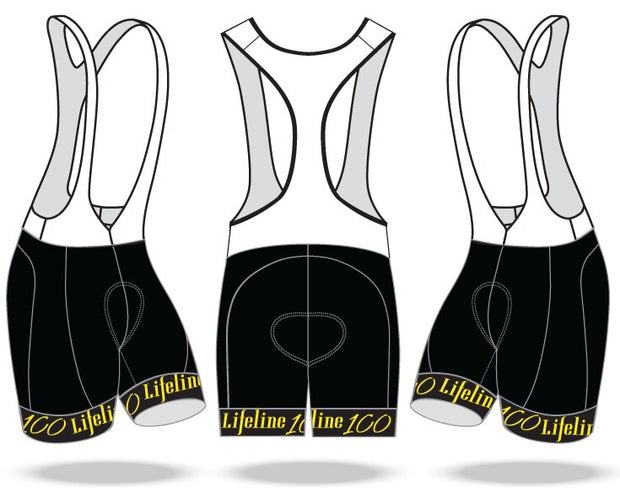 Lifeline 100 Elite Cycling Bibs