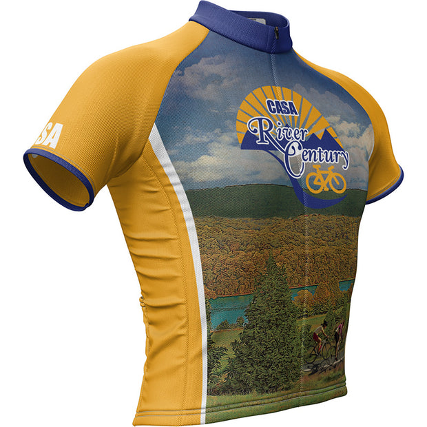 CASA River Century + Mens REC Cycling Jersey