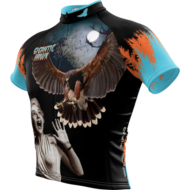 Gigantic Hawk B Movie + Mens REC Cycling Jersey
