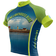 Maine Lighthouse Ride 2018 + Mens REC Cycling Jersey (ORDER UP IF WANT LOOSER)