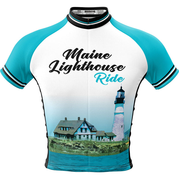 Maine Lighthouse Ride 2019 + Mens REC Cycling Jersey (ORDER UP IF WANT LOOSER)