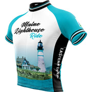 Maine Lighthouse Ride 2019 + WOMENS REC Cycling Jersey (ORDER UP if want looser)