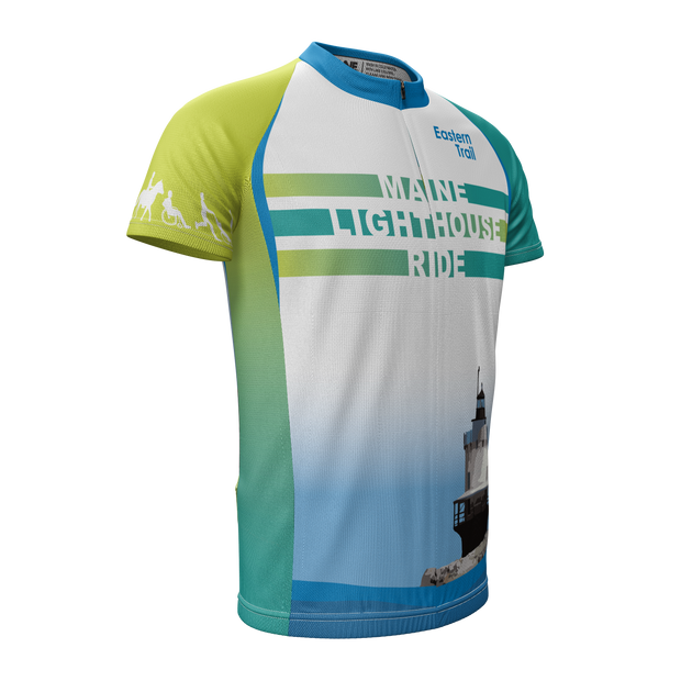 Maine Lighthouse Ride 2014 + Mens REC Cycling Jersey (ORDER UP IF WANT LOOSER)