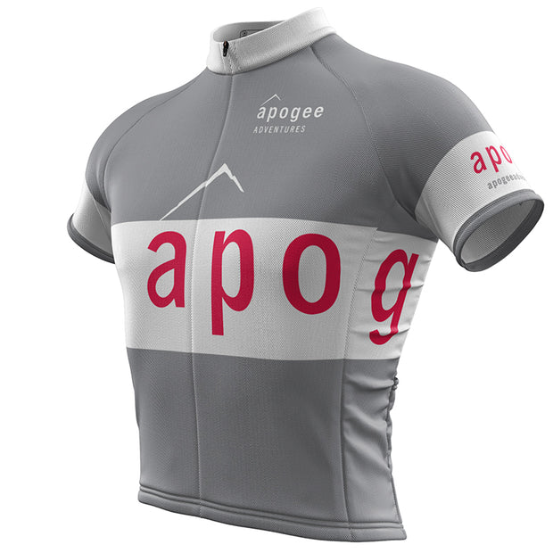 Apogee Adventures + Mens REC Cycling Jersey