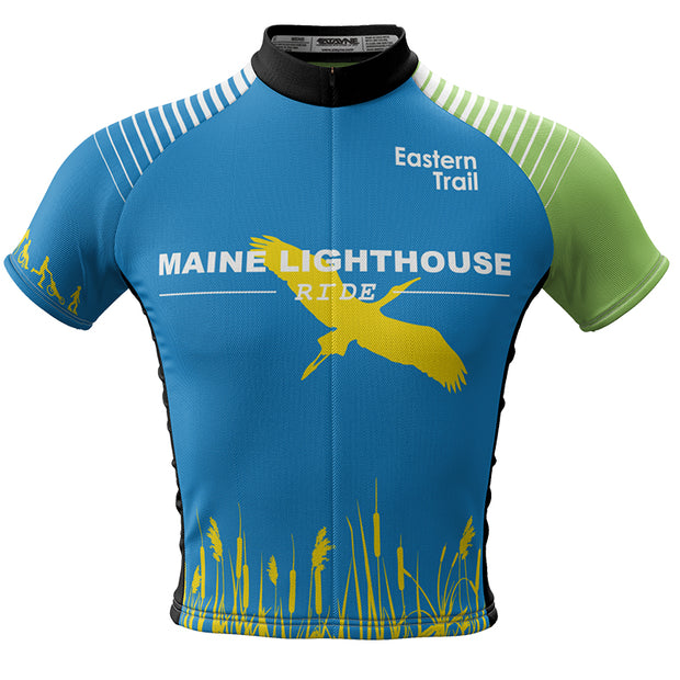 Maine Lighthouse Ride 2015 + Men REC Cycling Jersey (ORDER UP IF WANT LOOSER)