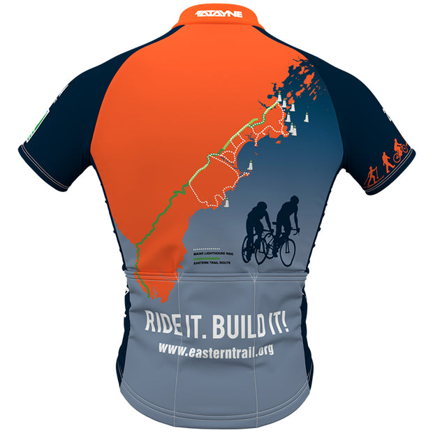 Maine Lighthouse Ride 2017 + Mens REC Cycling Jersey (ORDER UP IF WANT LOOSER)