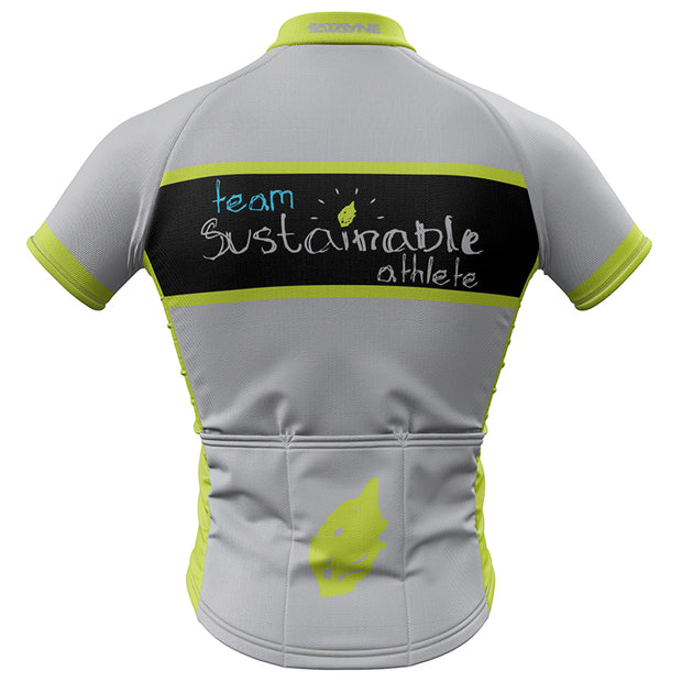 Team Sustainable Athlete Mens Cycling Jersey